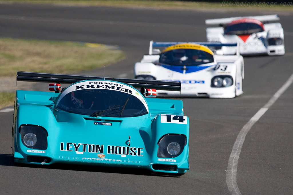 Porsche 962 CK - Chassis: CK6-01(02)   - 2008 24 Hours of Le Mans