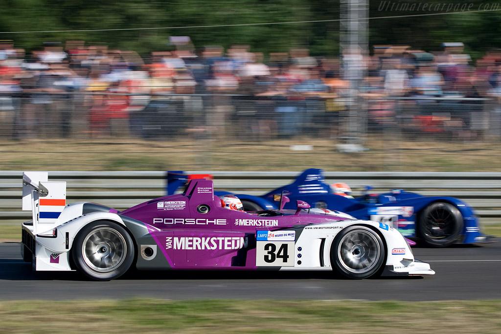 Porsche RS Spyder - Chassis: 9R6 708 - Entrant: Van Merksteijn Motorsport  - 2008 24 Hours of Le Mans