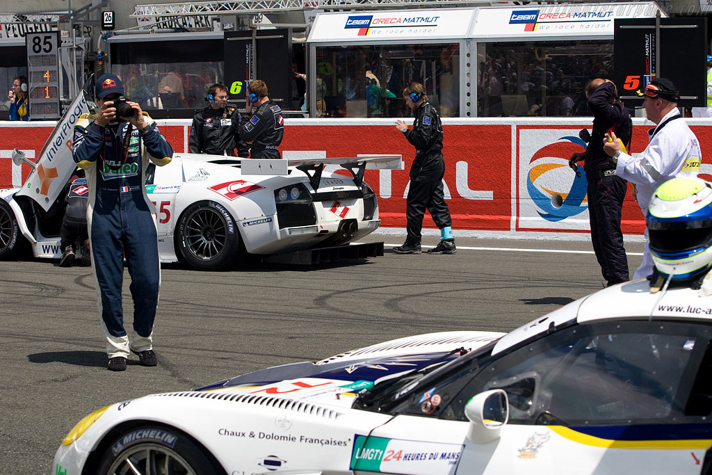 Professional skier, racing driver and photographer?    - 2008 24 Hours of Le Mans