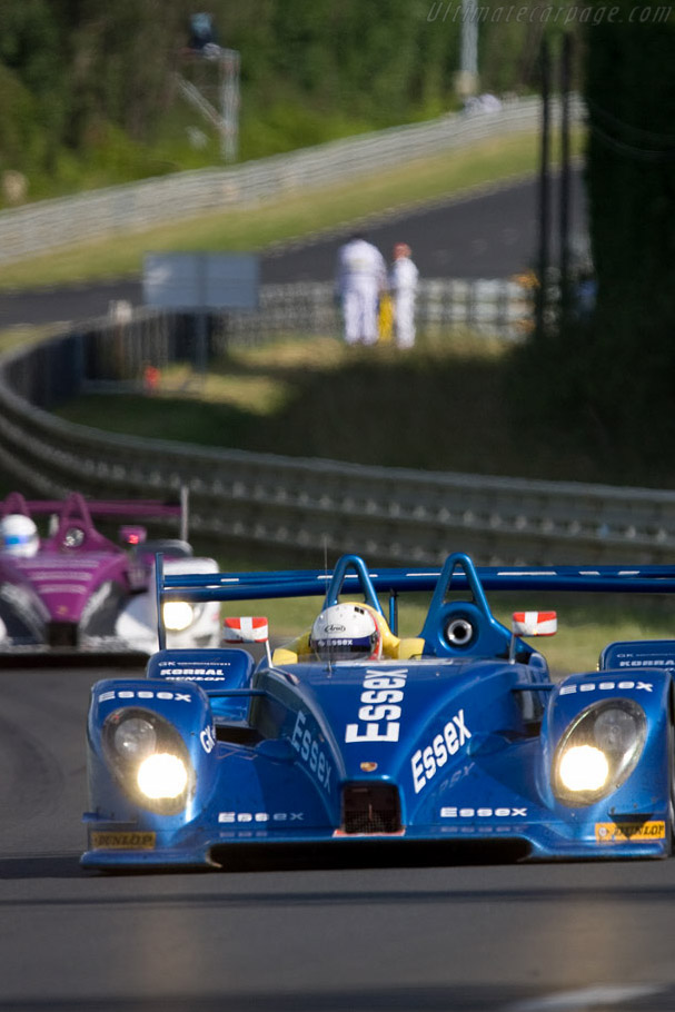 RS Spyders heading the LMP2 class - Chassis: 9R6 709 - Entrant: Team Essex  - 2008 24 Hours of Le Mans