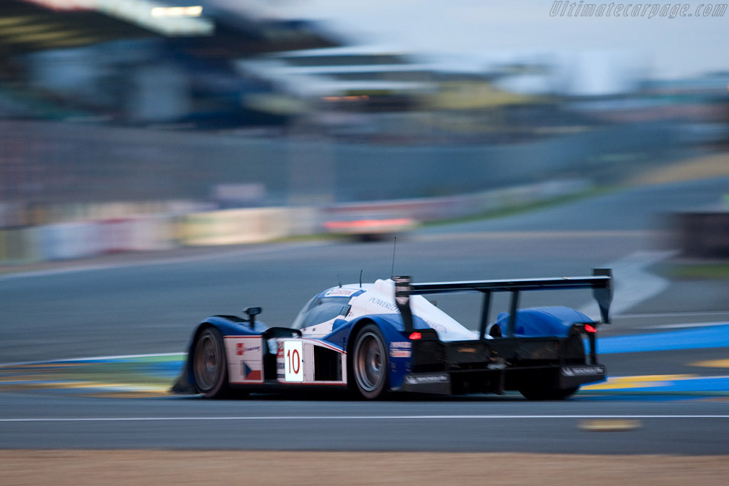 Ready for another lap - Chassis: B0860-HU01 - Entrant: Charouz Racing System  - 2008 24 Hours of Le Mans