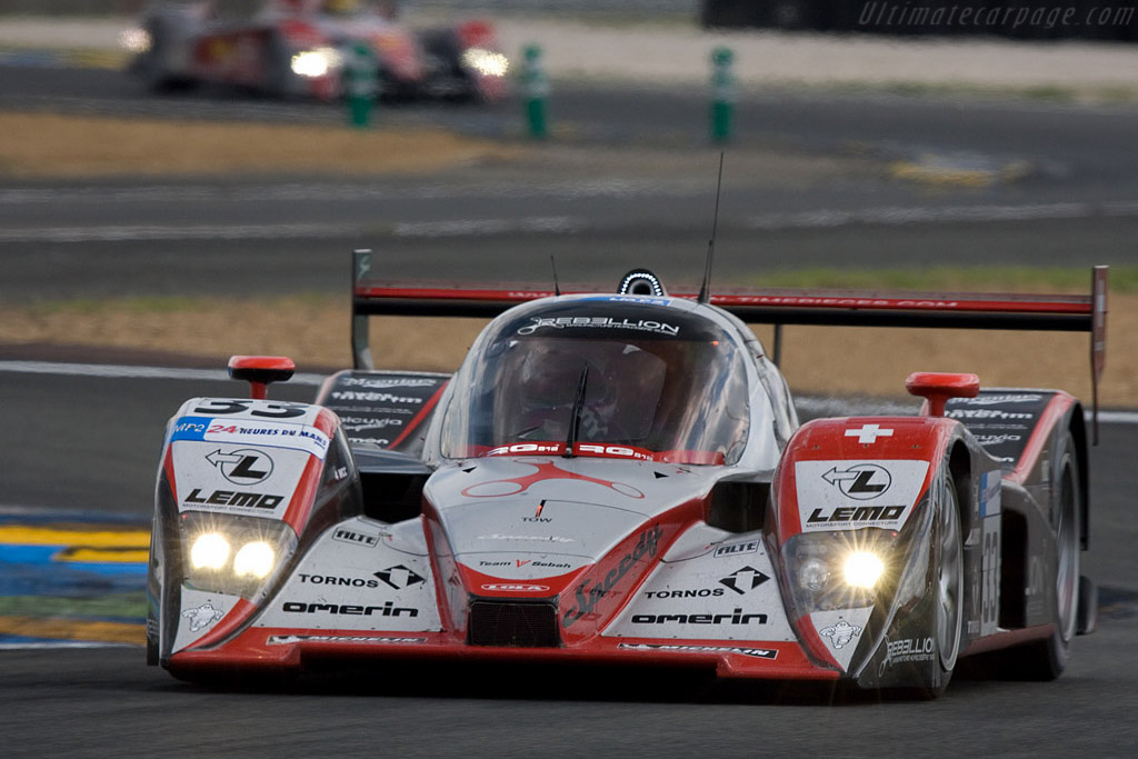 Red, silver and black - Chassis: B0880-HU01 - Entrant: Speedy Racing Team Sebah  - 2008 24 Hours of Le Mans