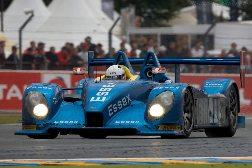 Second for the Essex Porsche - Chassis: 9R6 709 - Entrant: Team Essex  - 2008 24 Hours of Le Mans