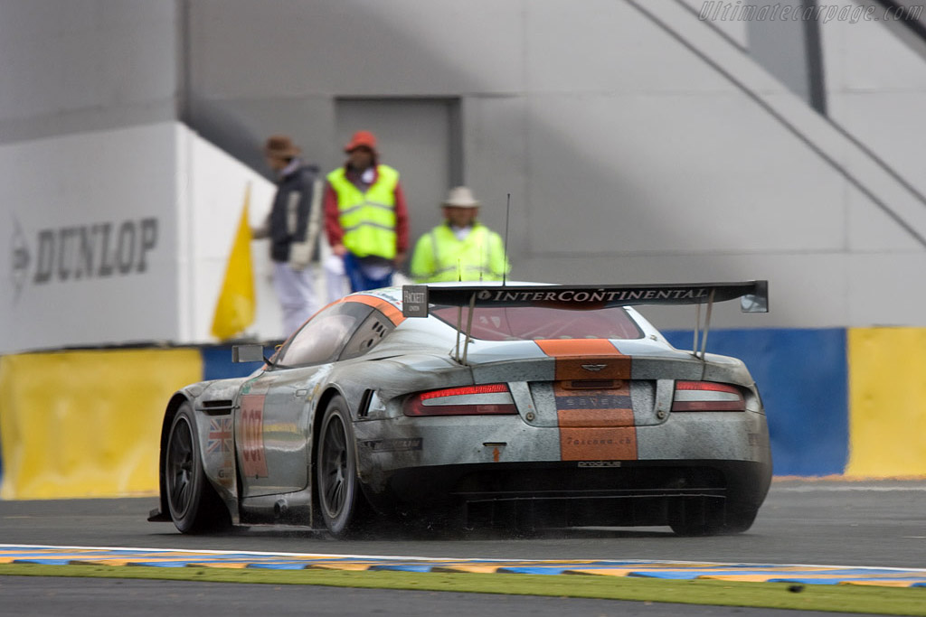 Shaken, not stirred - Chassis: DBR9/7 - Entrant: Aston Martin Racing  - 2008 24 Hours of Le Mans