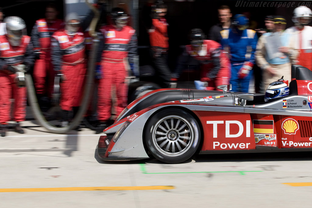 TDI Power - Chassis: 302 - Entrant: Audi Sport Team Joest  - 2008 24 Hours of Le Mans