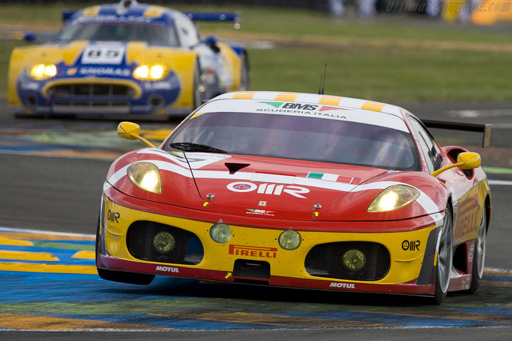 Take off! - Chassis: 2616 - Entrant: BMS Scuderia Italia  - 2008 24 Hours of Le Mans