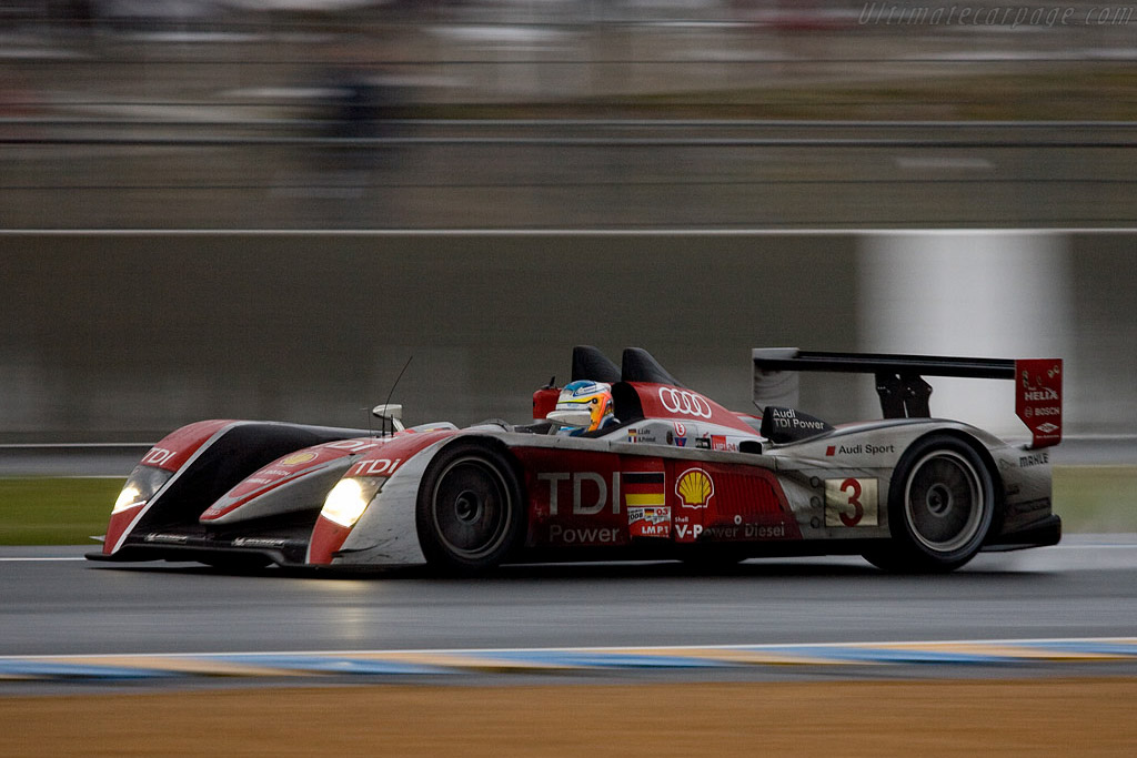 The 'junior' Audi - Chassis: 302 - Entrant: Audi Sport Team Joest  - 2008 24 Hours of Le Mans
