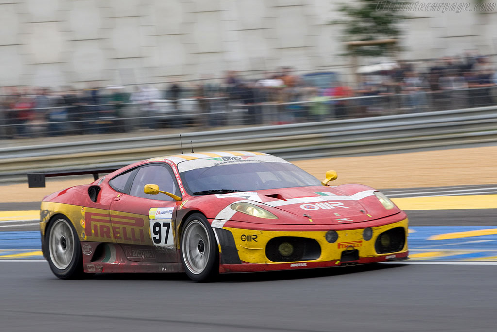 The 'new' Tertre Rouge corner - Chassis: 2616 - Entrant: BMS Scuderia Italia  - 2008 24 Hours of Le Mans