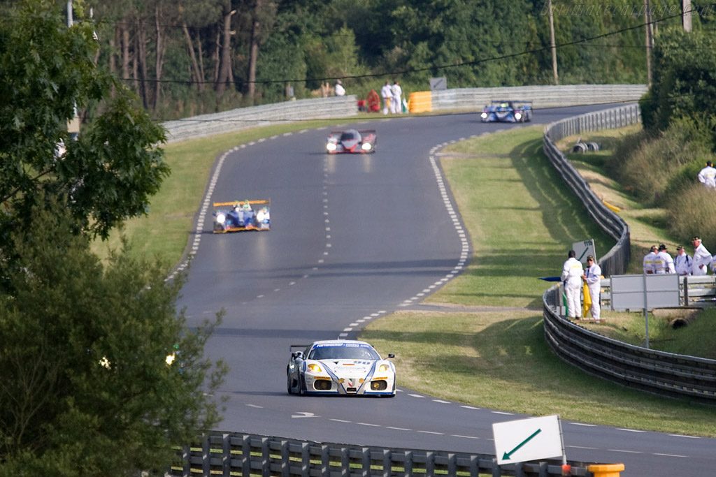 The 'straight' between Arnage and the Porsche curves - Chassis: 2612 - Entrant: Farnbacher Racing  - 2008 24 Hours of Le Mans