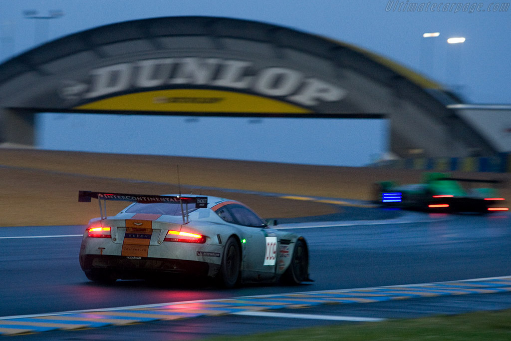 The 009 Aston leading its class - Chassis: DBR9/8 - Entrant: Aston Martin Racing  - 2008 24 Hours of Le Mans