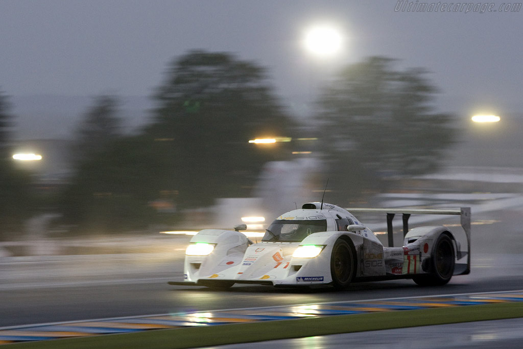 The Dome looked good in all weather - Chassis: S102-003 - Entrant: Dome Racing  - 2008 24 Hours of Le Mans