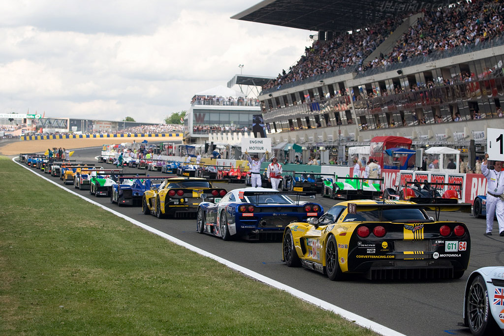 The Grid    - 2008 24 Hours of Le Mans