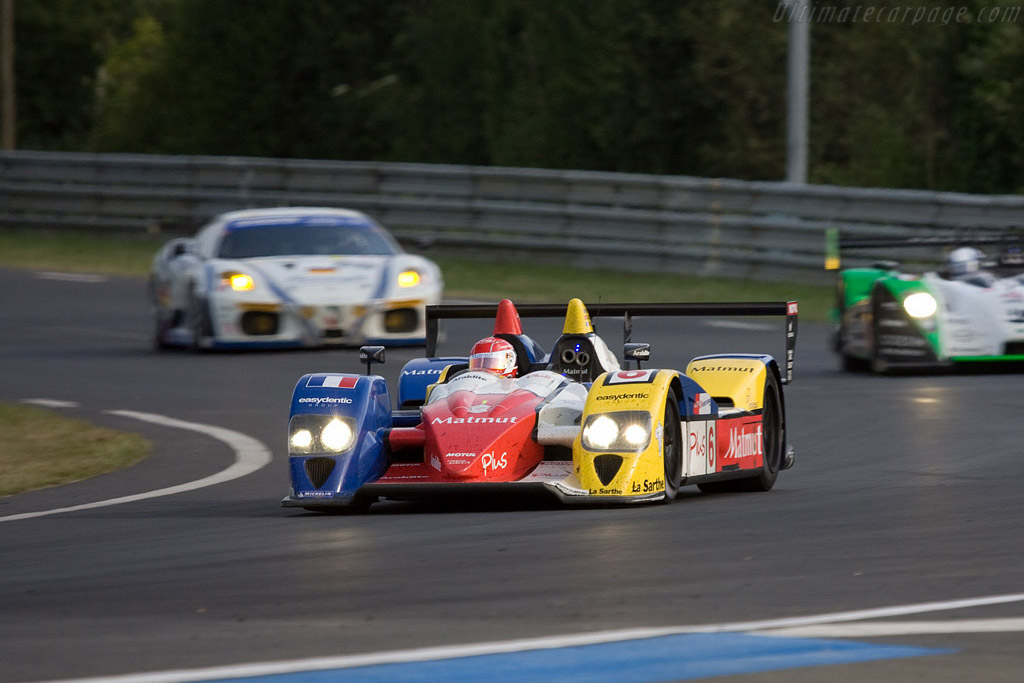 The Oreca make-over has made quite a difference - Chassis: LC70-10 - Entrant: Team Oreca Matmut  - 2008 24 Hours of Le Mans