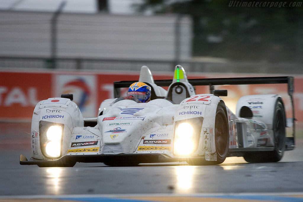 The Tokai University machine was surprisingly durable - Chassis: LC70-6 - Entrant: Tokai University - YGK Power  - 2008 24 Hours of Le Mans