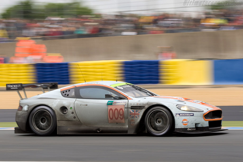 The legendary livery - Chassis: DBR9/8 - Entrant: Aston Martin Racing  - 2008 24 Hours of Le Mans