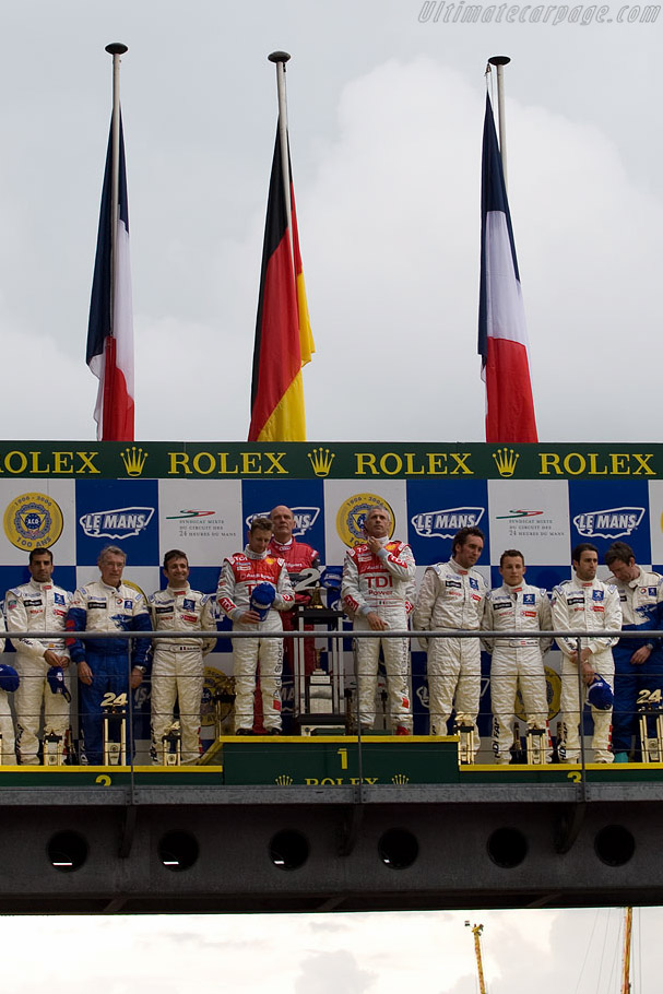 The winners    - 2008 24 Hours of Le Mans