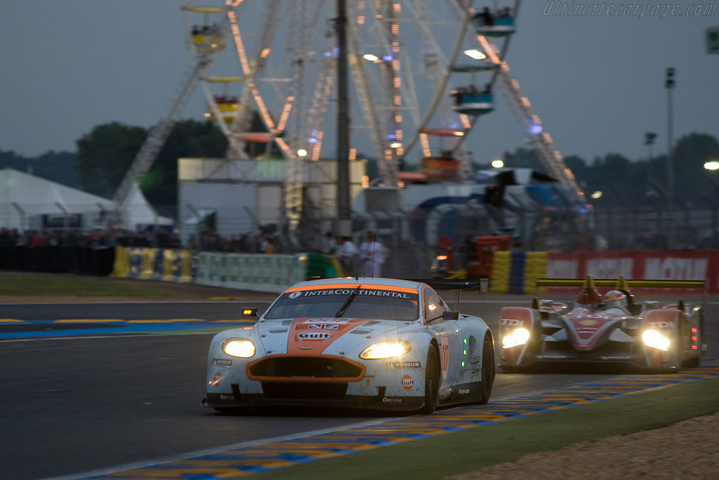Third in GT1 and LMP1 - Chassis: DBR9/7 - Entrant: Aston Martin Racing  - 2008 24 Hours of Le Mans