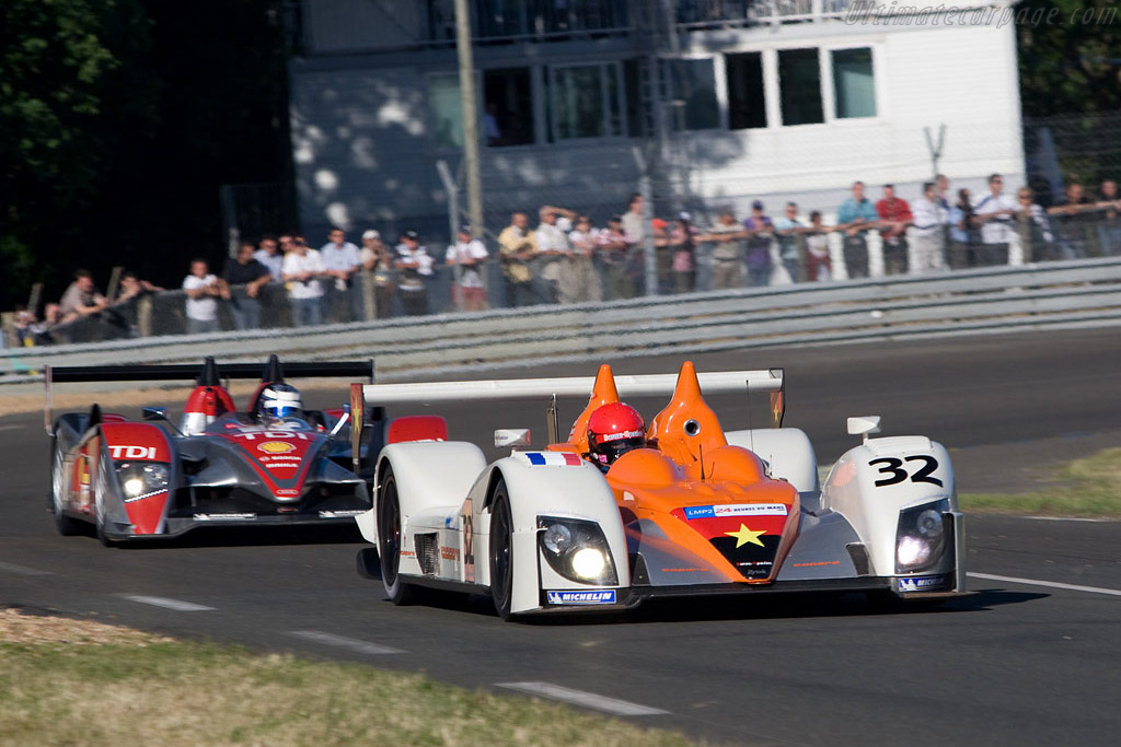 Zytek 07S/2 - Chassis: 07S-01 - Entrant: Barazi Epsilon  - 2008 24 Hours of Le Mans