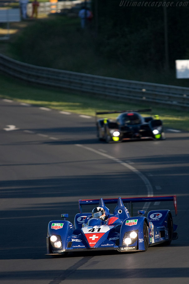 Zytek 07S/2 - Chassis: 07S-03 - Entrant: Trading Performance  - 2008 24 Hours of Le Mans