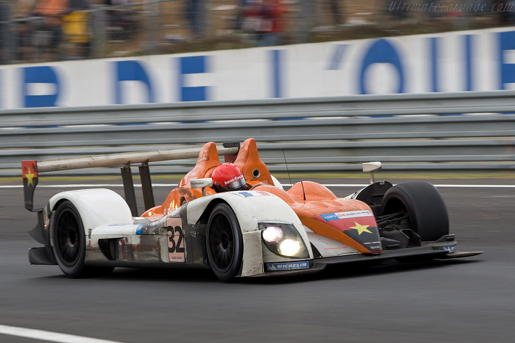 Zytek's new aero-package - Chassis: 07S-01 - Entrant: Barazi Epsilon  - 2008 24 Hours of Le Mans