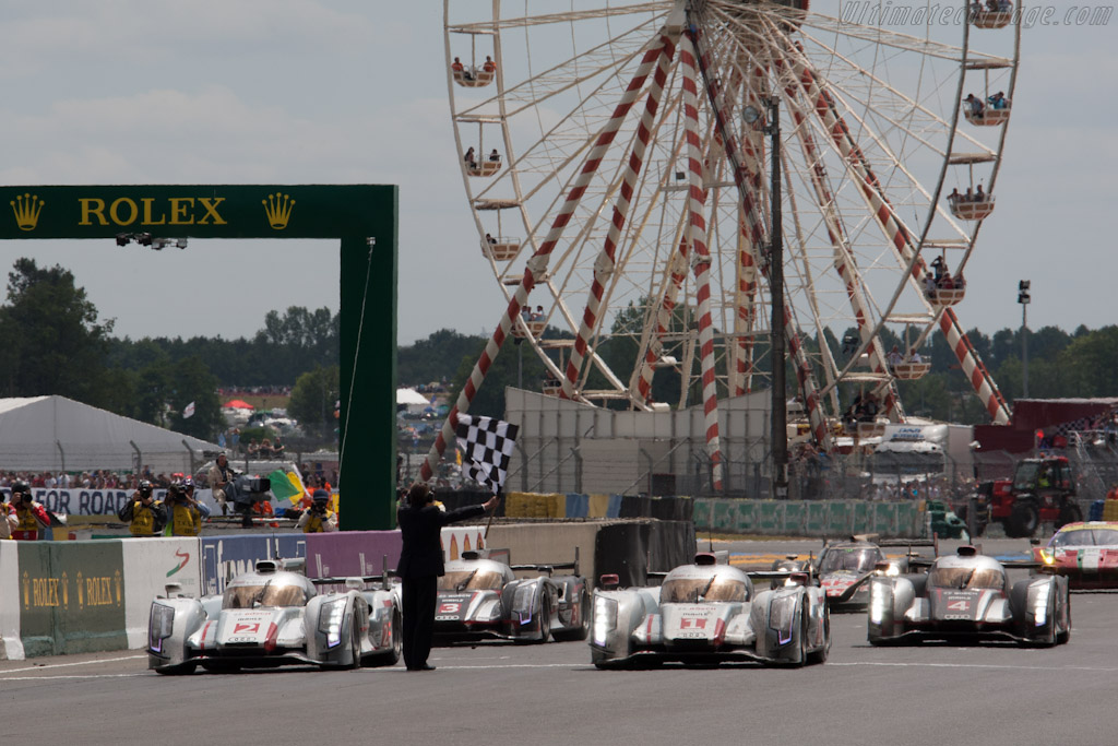 The winners    - 2012 24 Hours of Le Mans