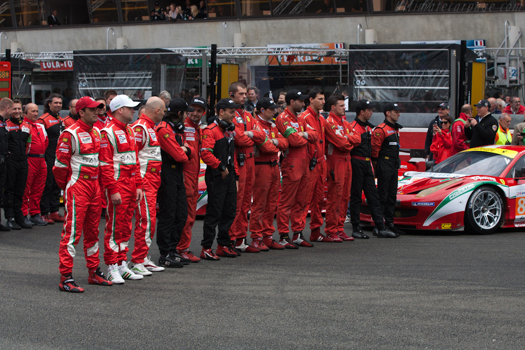 AF Corse Ferrari - Chassis: 2822   - 2012 24 Hours of Le Mans