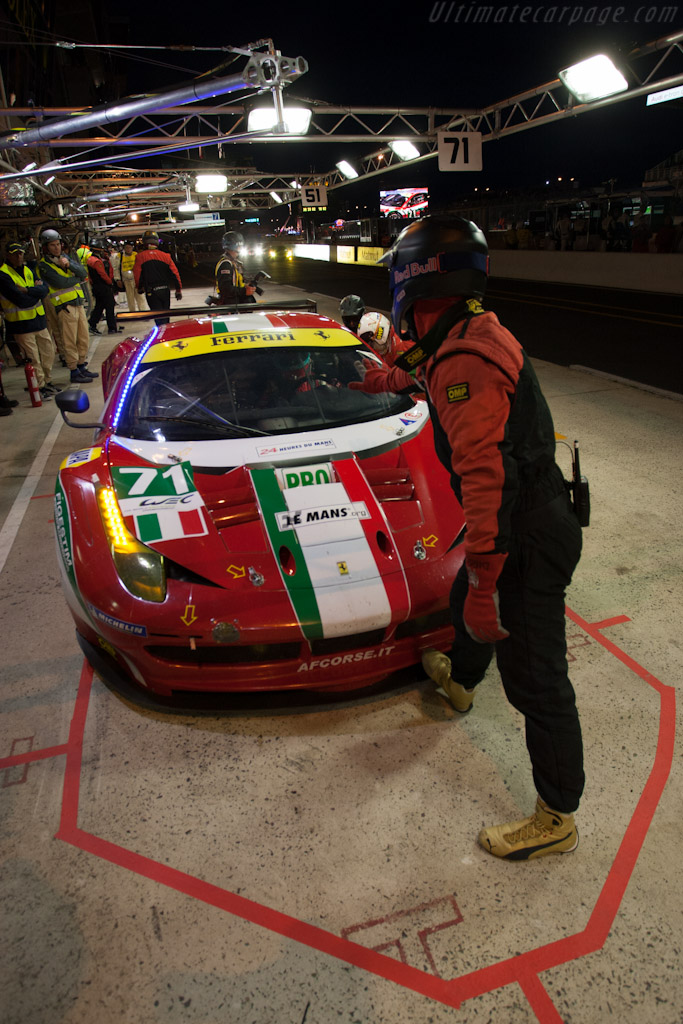 AF Corse Ferrari - Chassis: 2848   - 2012 24 Hours of Le Mans