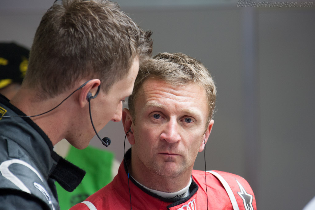 Allan Mcnish Chassis 206 2012 24 Hours Of Le Mans