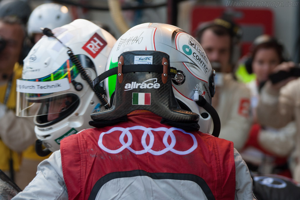 Allan McNish and Dindo Capello    - 2012 24 Hours of Le Mans