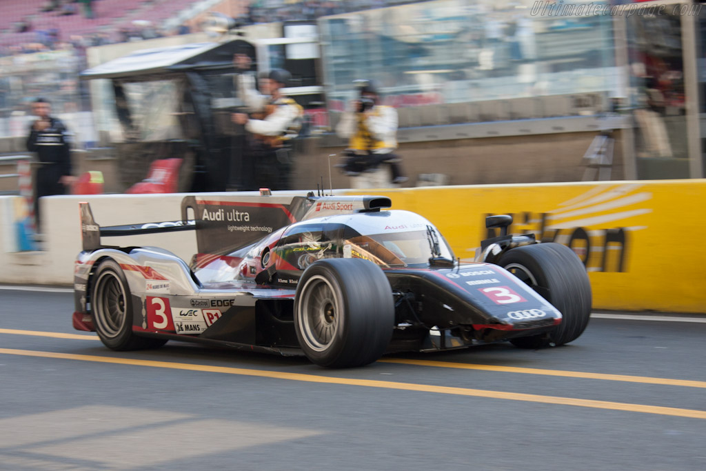 Audi R18 Ultra - Chassis: 207   - 2012 24 Hours of Le Mans