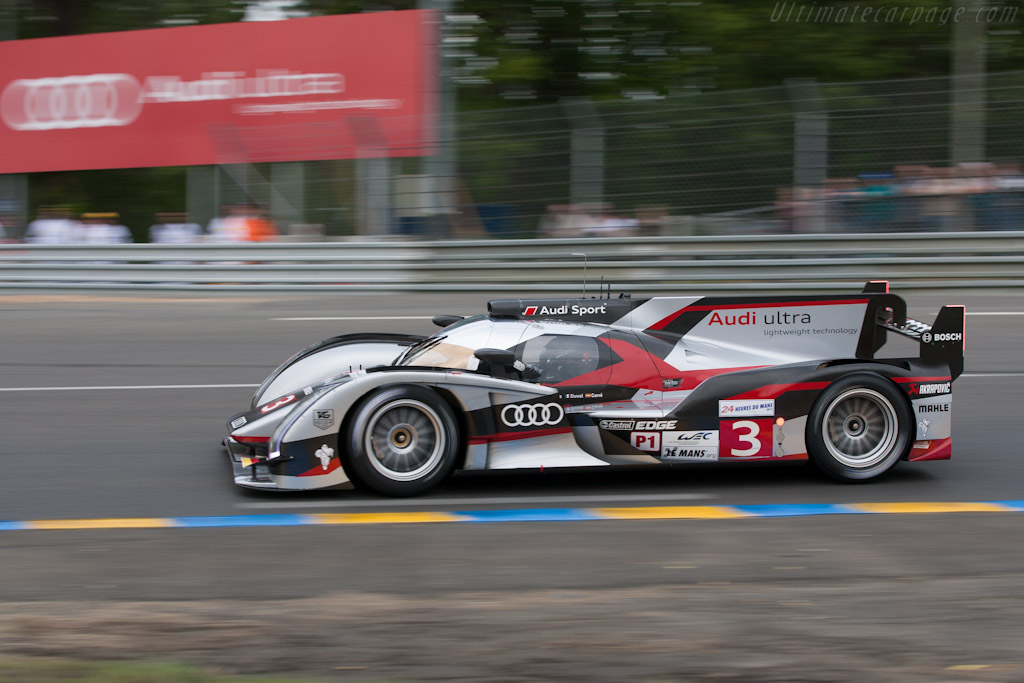 Audi R18 Ultra Chassis 207 2012 24 Hours Of Le Mans