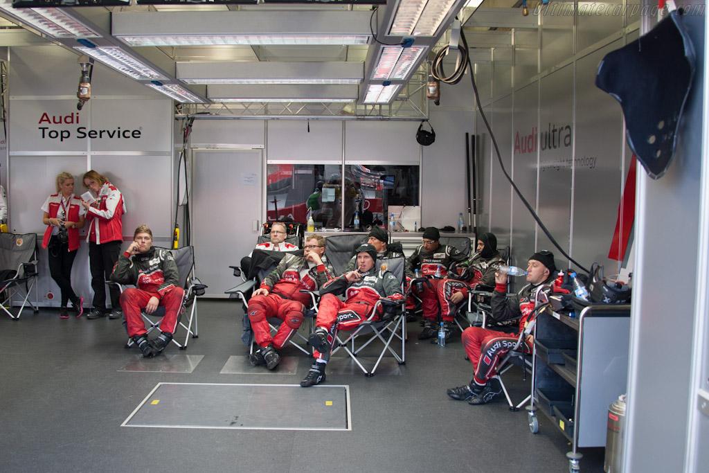 Audi crew    - 2012 24 Hours of Le Mans