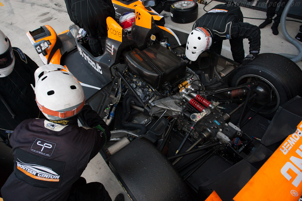 Boutsen stop - Chassis: 07  - 2012 24 Hours of Le Mans