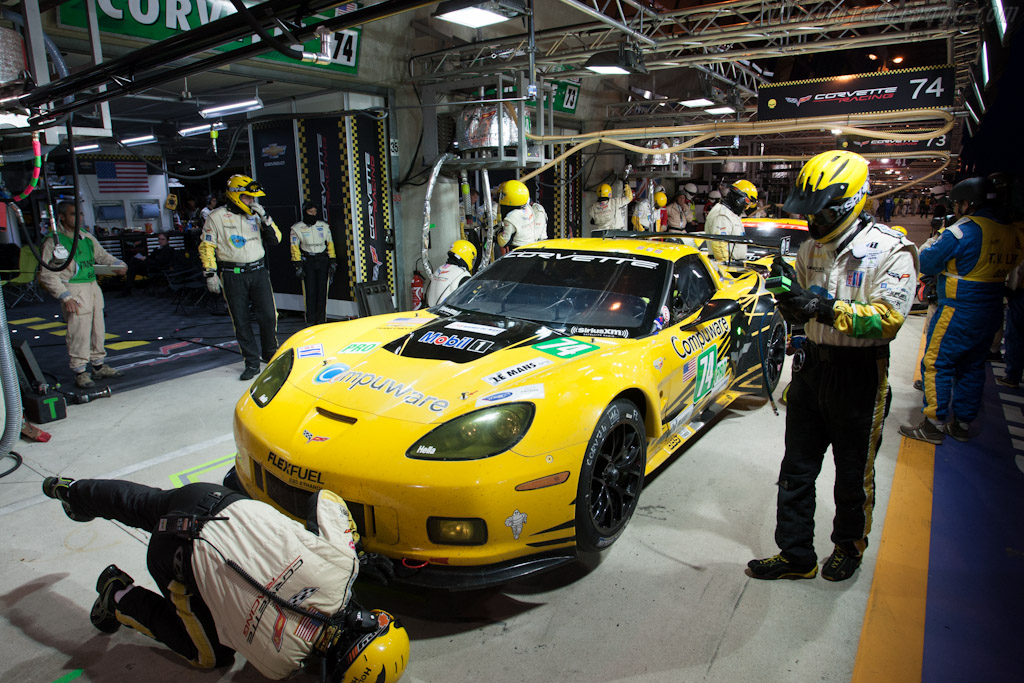 Corvette Racing - Chassis: C6GT-006   - 2012 24 Hours of Le Mans