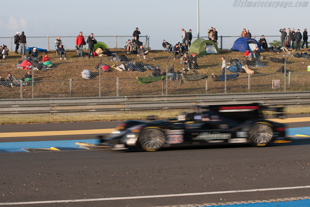 Dawn at Tertre Rouge - Chassis: 03   - 2012 24 Hours of Le Mans
