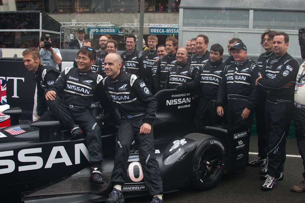 DeltaWing crew - Chassis: DWLM12001   - 2012 24 Hours of Le Mans