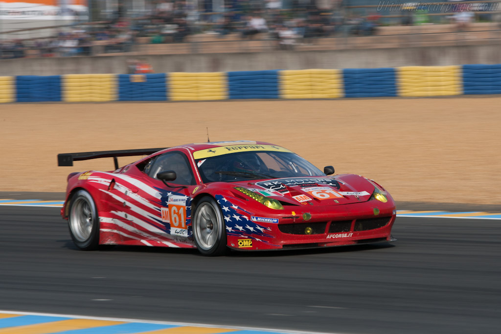 Ferrari 458 Italia GT2 - Chassis: 2826   - 2012 24 Hours of Le Mans
