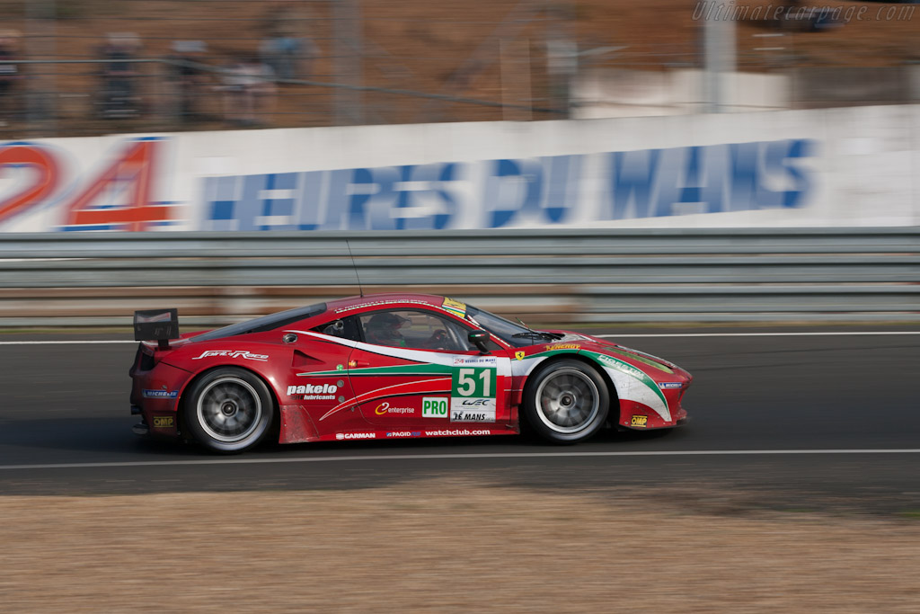 Ferrari 458 Italia GT2 - Chassis: 2846   - 2012 24 Hours of Le Mans