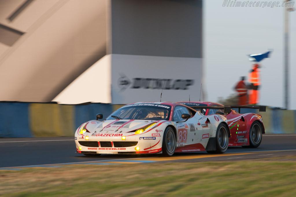 Ferrari 458 Italia GT2 - Chassis: 2838   - 2012 24 Hours of Le Mans