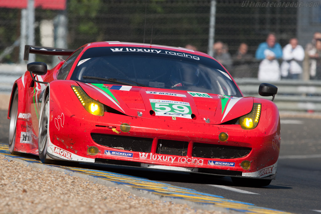 Ferrari 458 Italia GT2 - Chassis: 2832   - 2012 24 Hours of Le Mans