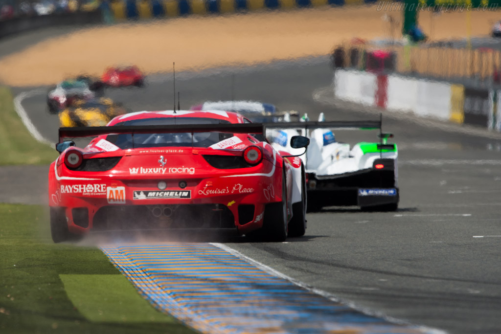 Ferrari 458 Italia GT2 - Chassis: 2834   - 2012 24 Hours of Le Mans