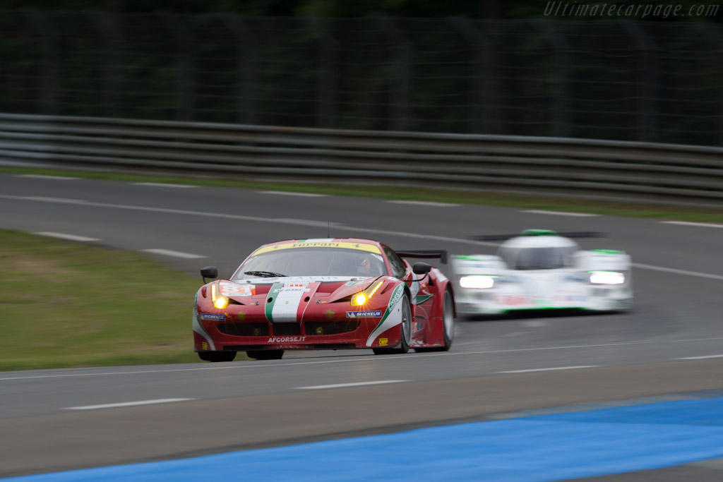 Ferrari 458 Italia GT2 - Chassis: 2822   - 2012 24 Hours of Le Mans
