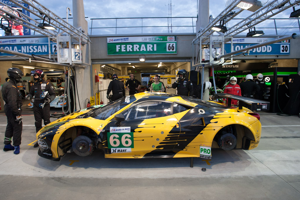 Ferrari 458 Italia GT2 - Chassis: 2808   - 2012 24 Hours of Le Mans