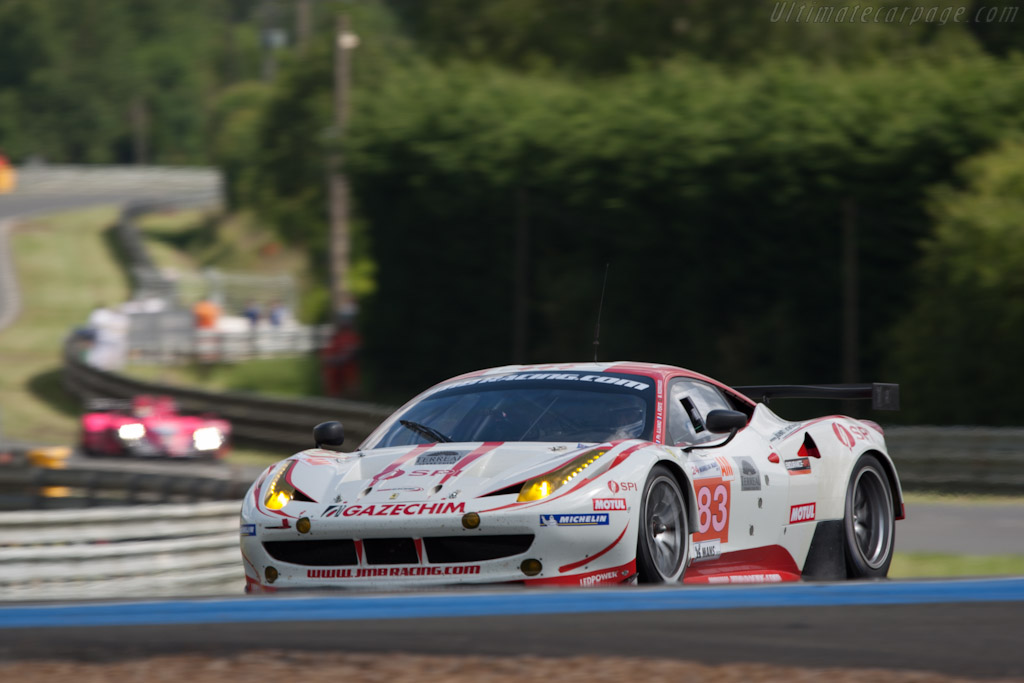 Ferrari 458 Italia GT2 - Chassis: 2838   - 2012 24 Hours of Le Mans