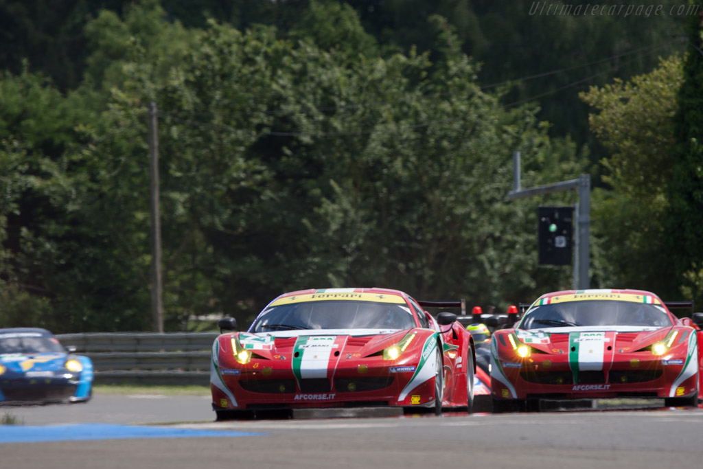 Ferrari 458 Italia GT2 - Chassis: 2848   - 2012 24 Hours of Le Mans