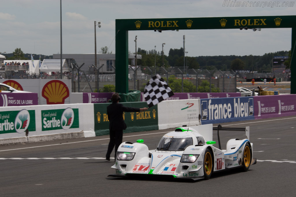 Final finisher - Chassis: S102-003   - 2012 24 Hours of Le Mans