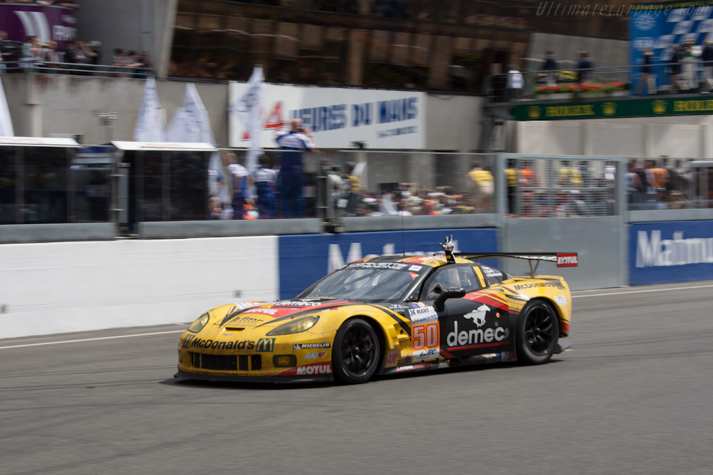 GTE Am winner - Chassis: C6GT-003   - 2012 24 Hours of Le Mans