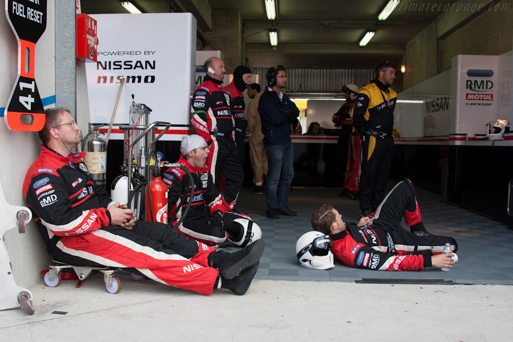 Greaves crew    - 2012 24 Hours of Le Mans