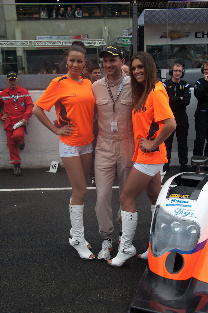 Grid girls    - 2012 24 Hours of Le Mans