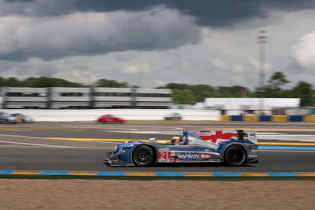 HPD ARX-03a - Chassis: 01   - 2012 24 Hours of Le Mans
